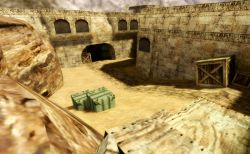 Old-School - CTF/CSDM Server - карта de_dust2