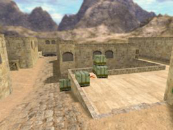 WildWest 18+ Army Mod - карта de_dust2_2x2