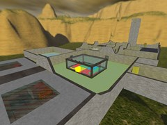CyberBRO Побег из Алькатраса - mapa jail_arena_city